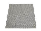 Bathroom rug 65 x 65 - quarry grey