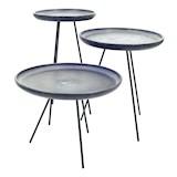 Ceramic Side table dia 50 x h 35