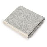 Throw 128 x 240 - quarry grey